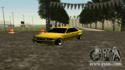BMW 320i E36 Wide Body Kit for GTA San Andreas