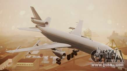 DC-10-30 All-White Livery (Paintkit) for GTA San Andreas