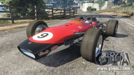 Lotus 49 1967 [no ailerons] for GTA 5
