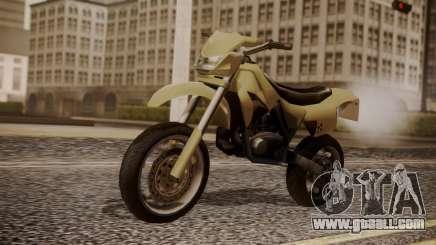 Sanchez SuperMoto for GTA San Andreas