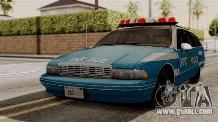 Chevy Caprice Station Wagon 1993-1996 NYPD for GTA San Andreas