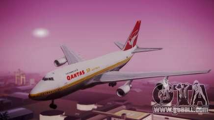 Boeing 747SP Qantas Gold for GTA San Andreas