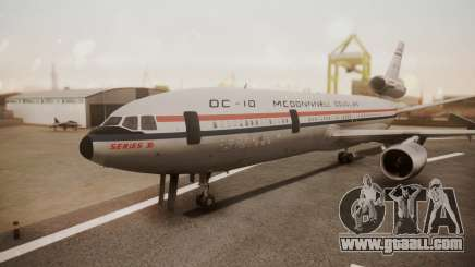 McDonnell-Douglas DC-10 Prototype N1339U for GTA San Andreas