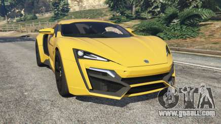 Lykan HyperSport 2014 v1.2 for GTA 5