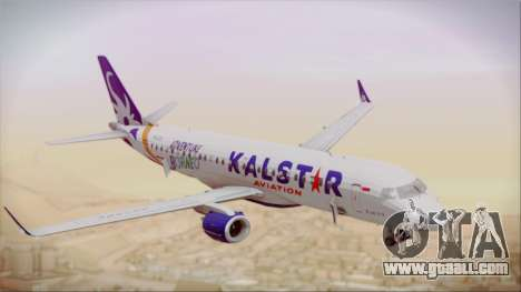 E-195 KalStar Aviation for GTA San Andreas right view