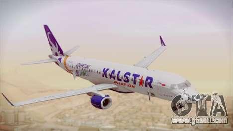 E-195 KalStar Aviation for GTA San Andreas right view