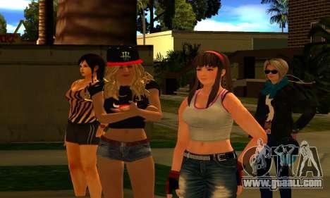 Womens Mega Pack by 7 Pack for GTA San Andreas third screenshot