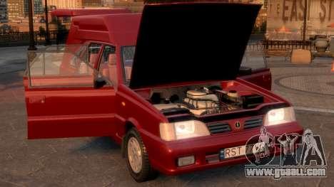 Daewoo-FSO Polonez Cargo Van Plus 1999 for GTA 4 inner view