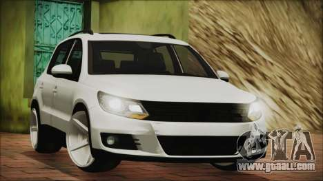 Volkswagen Tiguan Vossen Edition for GTA San Andreas left view