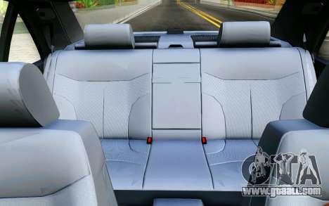 Mercedes-Benz W140 for GTA San Andreas upper view