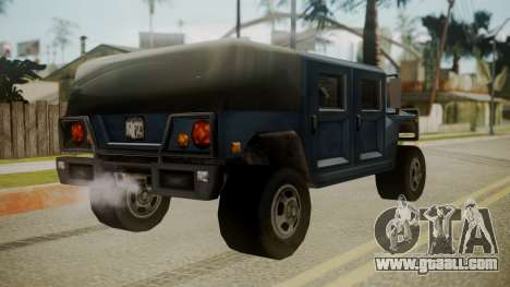 Patriot III for GTA San Andreas left view