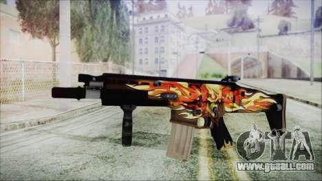 SCAR-L for GTA San Andreas