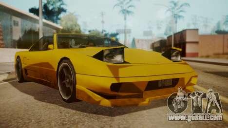 Better Super GT for GTA San Andreas