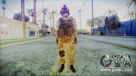 MW2 Russian Airborne Troop Desert Camo v1 for GTA San Andreas second screenshot