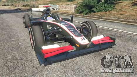 Hispania F110 (HRT F110) v1.1 for GTA 5