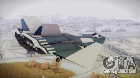 Chuckup BlackBird for GTA San Andreas left view