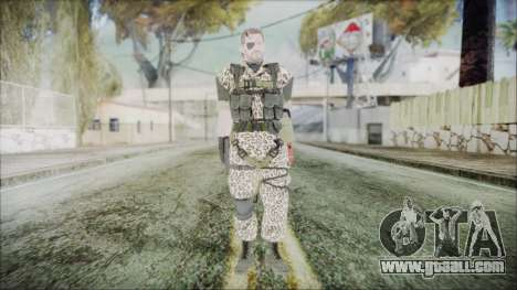 MGSV Phantom Pain Snake Normal Wetwork for GTA San Andreas second screenshot