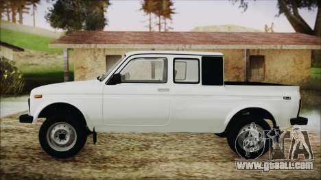 VAZ 2329 Niva 4x4 for GTA San Andreas back left view