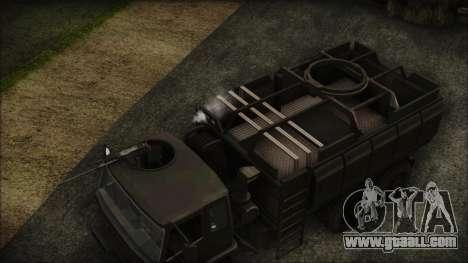 Archer Gun Truck for GTA San Andreas right view