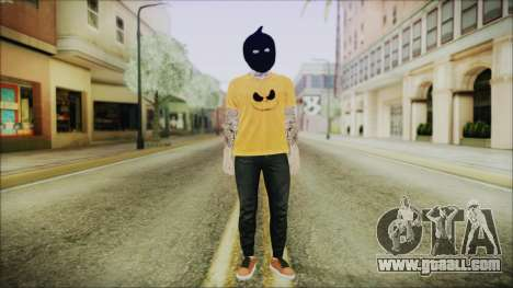 DLC Halloween GTA 5 Calabaza for GTA San Andreas second screenshot