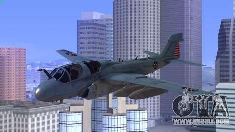 Northrop Grumman EA-6B Prowler VAQ-129 for GTA San Andreas
