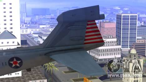Northrop Grumman EA-6B Prowler VAQ-129 for GTA San Andreas back left view