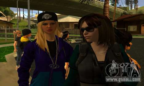 Womens Mega Pack by 7 Pack for GTA San Andreas