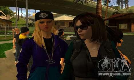 Womens Mega Pack by 7 Pack for GTA San Andreas forth screenshot