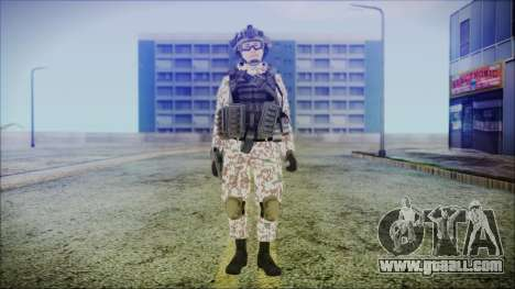 Bundeswehr Desert v2 for GTA San Andreas second screenshot