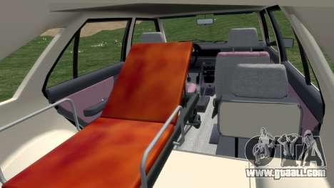Daewoo-FSO Polonez Cargo Ambulance 1999 for GTA 4 inner view