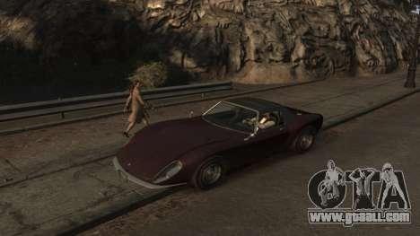 GTA V Stinger Classic for GTA 4 left view