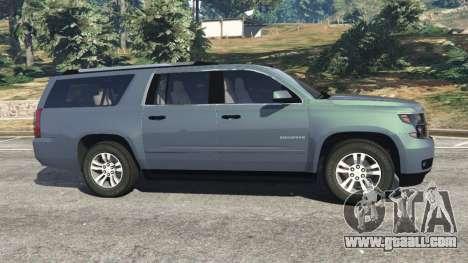 Chevrolet Suburban 2015 [unlocked] for GTA 5