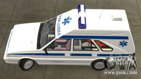 Daewoo-FSO Polonez Cargo Ambulance 1999 for GTA 4 left view