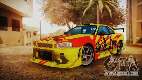 Nissan Skyline Street Racing Syndicate for GTA San Andreas