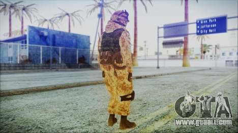 MW2 Russian Airborne Troop Desert Camo v1 for GTA San Andreas third screenshot