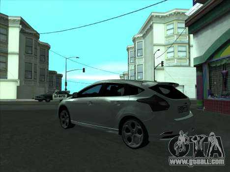 Ford Focus ST baleen for GTA San Andreas right view