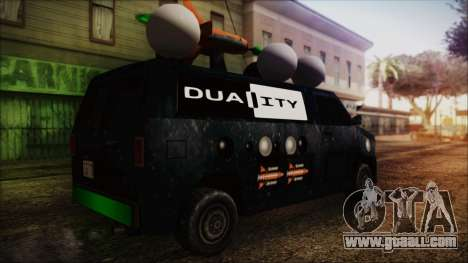 Duality Van - Furgoneta Duality for GTA San Andreas left view