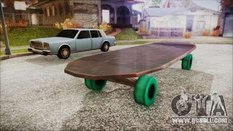 Giant Skateboard for GTA San Andreas