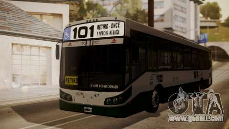 Todo Bus Agrale MT17.0LE AA for GTA San Andreas