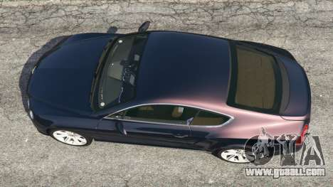 GTA 5 Bentley Continental GT 2012 v1.1 back view