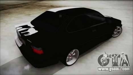 BMW M3 E36 Good and Evil for GTA San Andreas left view