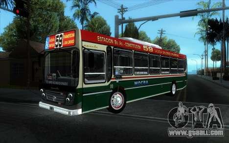 Ugarte Europeo MB OH1718L-SB Linea 59 for GTA San Andreas