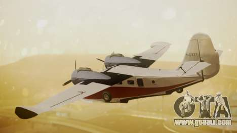 Grumman G-21 Goose NC327 Cutter Goose for GTA San Andreas left view