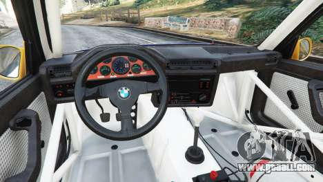 GTA 5 BMW M3 (E30) 1991 [Mingelo] v1.2 right side view