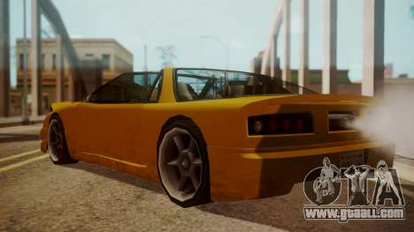 Better Super GT for GTA San Andreas left view