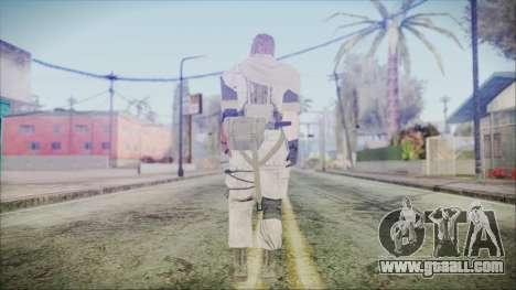 MGSV Phantom Pain Snake Scarf Desert for GTA San Andreas third screenshot