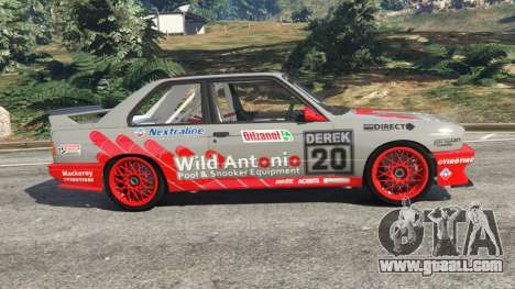 GTA 5 BMW M3 (E30) 1991 [Wild Autonio] v1.2 left side view