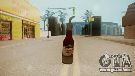 GTA 5 Molotov Cocktail for GTA San Andreas third screenshot