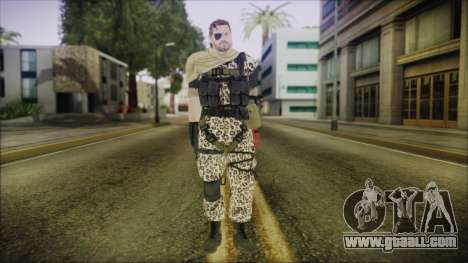 MGSV Phantom Pain Snake Scarf Animals for GTA San Andreas second screenshot