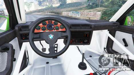 BMW M3 (E30) 1991 [Honoris] v1.2 for GTA 5